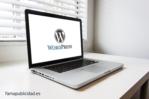 mockup wordpress